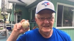 Innisfil man has piece of Blue Jays' history