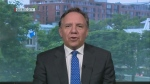Francois Legault is the leader of the Coalition Avenir Quebec