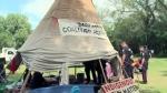 Protesters arrested at legislature camp