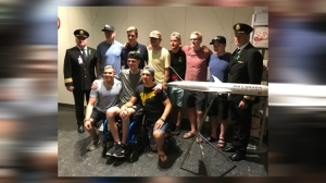 Several Humboldt Broncos crash survivors reunite in Calgary ahead of NHL Awards | CTV News