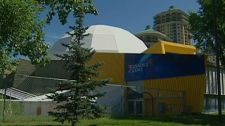 Telus World of Science vacated the building in 2011.