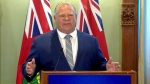 Doug Ford addresses newly-elected PC caucus