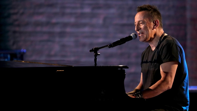 In this June 10, 2018, file photo, Bruce Springsteen performs at the 72nd annual Tony Awards at Radio City Music Hall in New York. (Photo by Michael Zorn/Invision/AP, File)