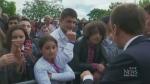 Emmanuel Macron insists on respect