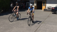 CTV's Yvonne Raymond is one of 22 riders set to bike more than 1,000 kilometres across Vancouver Island this fall for the Cops for Cancer Tour De Rock. (CTV Vancouver Island)