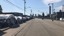 The Surrey Strip is seen Tuesday, June 19, 2018. (Michele Brunoro / CTV Vancouver)
