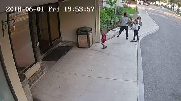 surveillance footage