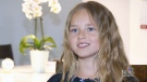 Nine-year-old is budding actress