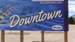 Plans to revitalize downtown Wasaga Beach reach a new stage. (Roger Klein / CTV Barrie)