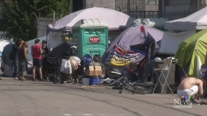From tents to housing: Moving day on Surrey Strip