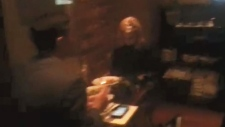 Extended: Kirstjen Nielson heckled while eating