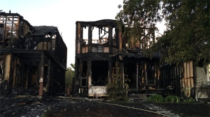 Three homes in Woodbine heavily damaged in fire | CTV News