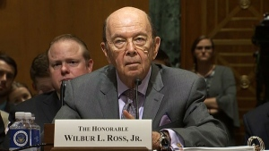 U.S. Commerce Secretary Wilbur Ross speaks on tariffs.