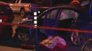 Man falls from vehicle in bizarre Rosemont crash | CTV News