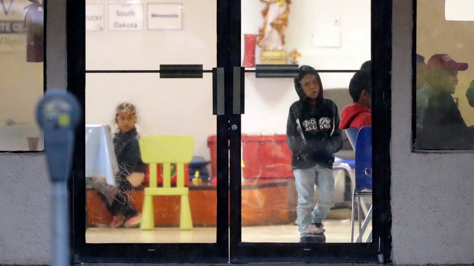 u.s. children immigraton