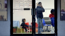 Children stuck at U.S. border