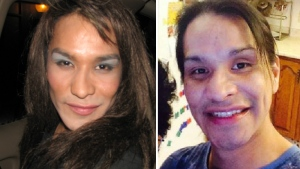 Myrah (Murray) Whitstone, 34, is shown in two undated photos released by RCMP. Supplied.