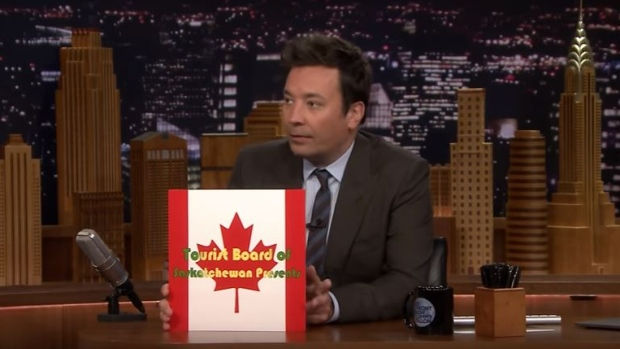 Experience Regina: Trip possible for Jimmy Fallon