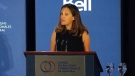 Minister Freeland appears in Montreal