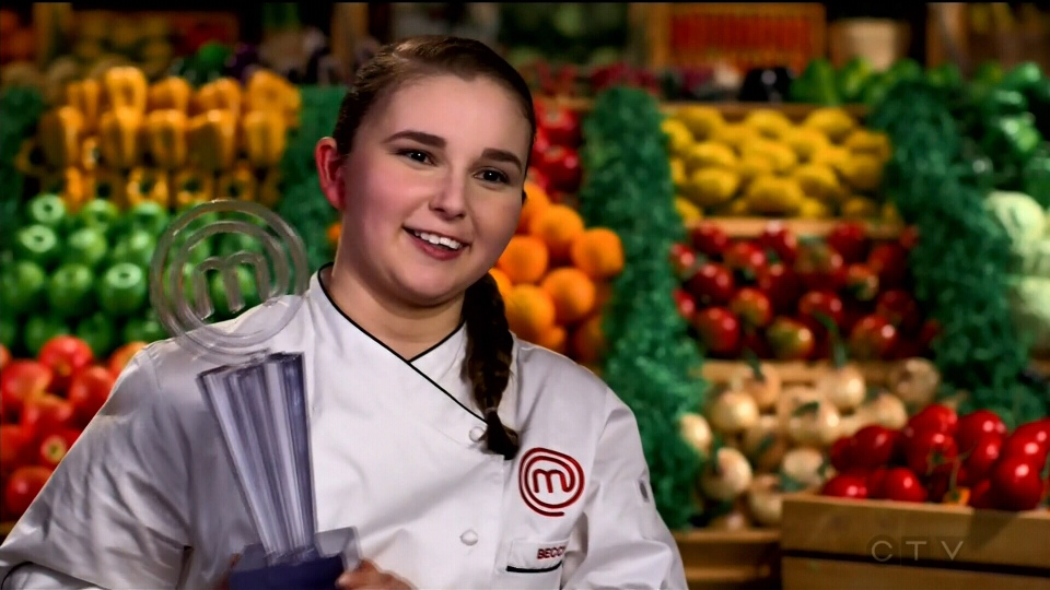 Beccy Stables, 19, was crowned MasterChef Canada champion.