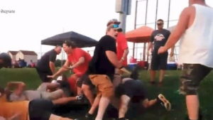 CTV News Channel: Parents brawl at baseball game
