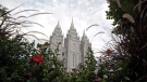In this Sept. 14, 2016, file photo, the Salt Lake Temple, is shown, in Salt Lake City. (AP Photo/Rick Bowmer, File)