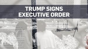 Trump's order to detain parents, children together