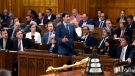Prime Minister Justin Trudeau rises during Question Period in the House of Commons on Parliament Hill in Ottawa on Wednesday, June 20, 2018. THE CANADIAN PRESS/Justin Tang