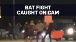 Caught on cam: Bat fight over 'debt' in Ontario