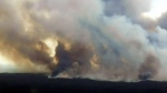 Wildfire near Southend prompts evacuation