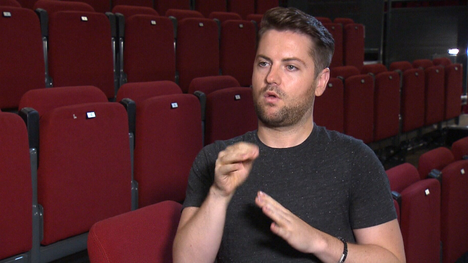 Actor and advocate Landon Krentz runs the Artistic Sign Language Agency in Vancouver.