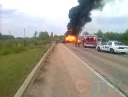 Two dead in highway crash   CTV News