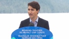 PM Trudeau makes announcement in B.C.
