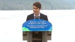 Prime Minister Justin Trudeau makes an announcement in Prince Rupert, B.C., Thursday, June 21, 2018.