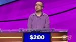 B.C. high school teacher Ali Hasan is seen on the June 19, 2018 episode of 'Jeopardy!'