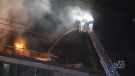 Blaze slows renewal at agricultural college