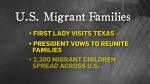 Trump seeks to ease tensions on family separation