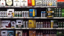 Beer products are on display at a Toronto beer store on Thursday, April 16, 2015. Your beer is about to undergo a government makeover. Federal officials are proposing changes to national beer standards that would widen the number of ingredients permitted in a pint and force brewers to list every ingredient on a can or bottle.THE CANADIAN PRESS/Chris Young
