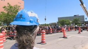 Montreal crane operator strike