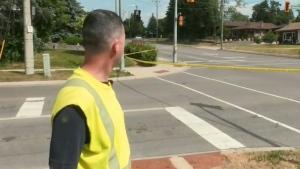 Witness says crossing guard crash 'horrific'