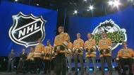 Late Broncos coach wins NHL award