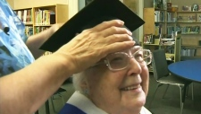 One for the books: B.C. woman graduates at 92
