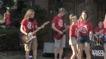 School of Rock KW performed alongside over a hundred others in an online stream.