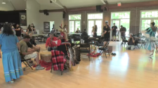 National Indigenous Peoples Day was marked in Kitchener with a drumming circle on Thursday.