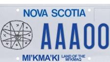 Nova Scotia's Mi'kmaq licence plate