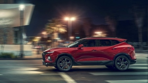 General Motors photo of the Chevrolet Blazer. (Courtesy of General Motors via AP)