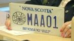 Mi'kmaq licence plate unveiled in Nova Scotia