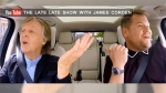 "Paul McCartney appears on ""Carpool Karaoke "" with James Corden."