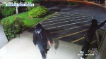 Security footage shows church vandals