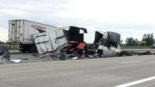 CTV Windsor: Fatal 401 crash